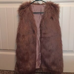Fur Vest Medium/Large